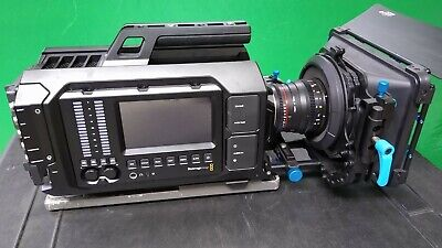 Blackmagic URSA 4K V2 (EF mount) with Cine Lenses, Follow Focus, Matte Box, Case