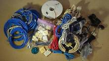 huge bulk lot of RJ11, RJ45, cables, connectors, filters  -  FREE North Epping Hornsby Area Preview