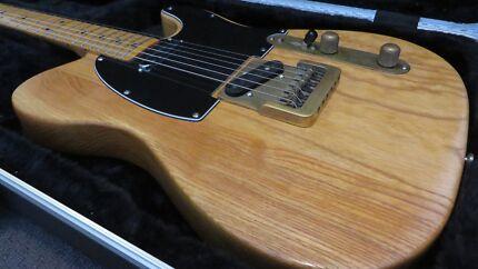 Vintage Fender Telecaster 1974 - Modded Ash & Maple Mosman Park Cottesloe Area Preview