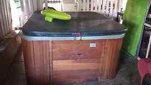 Heated spa hot tub up for swap trade Rockhampton Rockhampton City Preview
