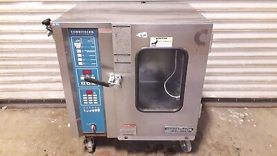 Convotherm Alto Shaam Hud 6.05 Electric Convection Steamer Combi Ovenpowers Up