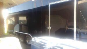 Gros trailer grosse remorque à vendre 3 essieux