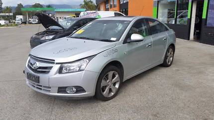 2011 Holden Cruze, Silver, Auto, Sedan NOW DISMANTLING
