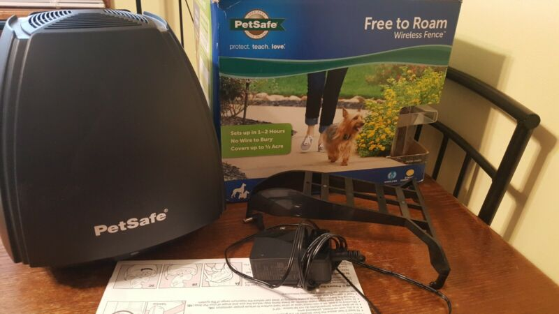 PetSafe Free To Roam Wireless Fence Transmitter NO COLLAR