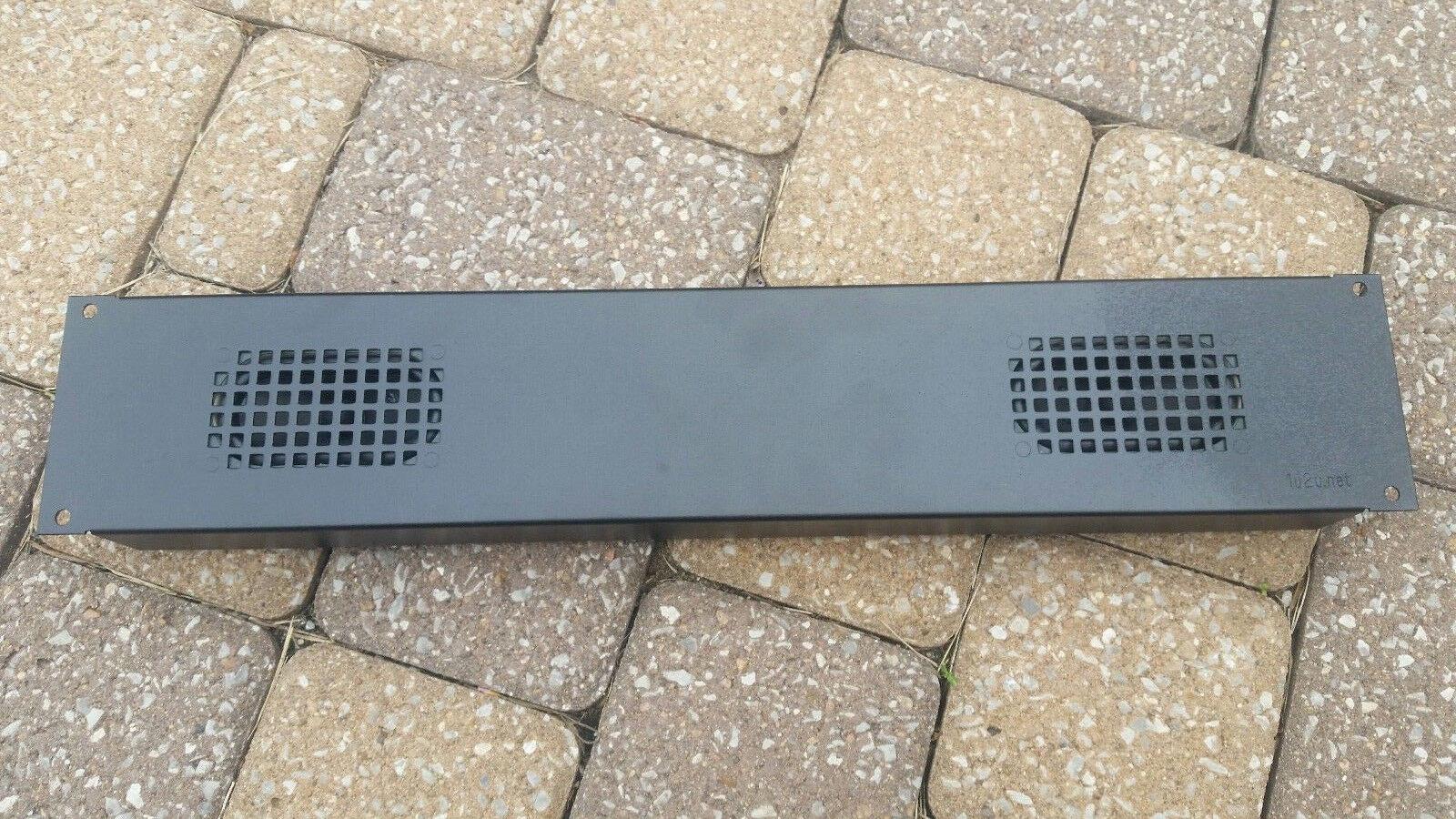 Rack-mount Speaker Pair 2U 3 With 4 Ohm 5 Watt Speakers R-390A - $37.00