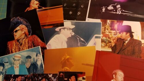 Elton John color 8x10 press photos ORIGINAL lot 3