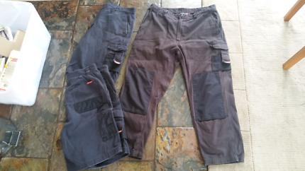 Hard Yakka pants & shorts 92R & 97S