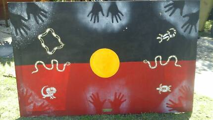 Aboriginal painting Adamstown Heights Newcastle Area Preview