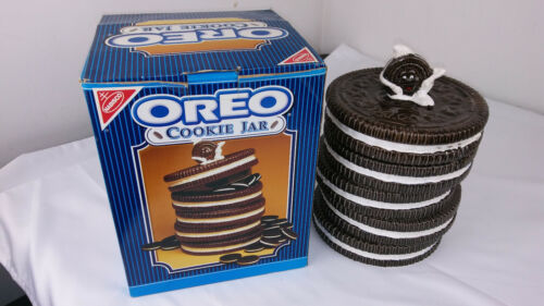 The Nabisco Classics Collection - Stacked Oreo Cookie Jar w/Lid Vintage 1970