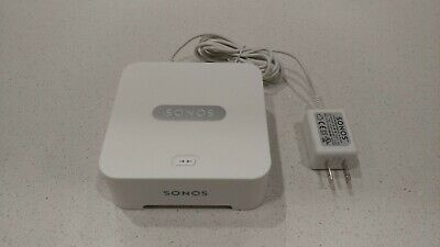 Sonos® BRIDGE Connect to your router for easy wireless operation
