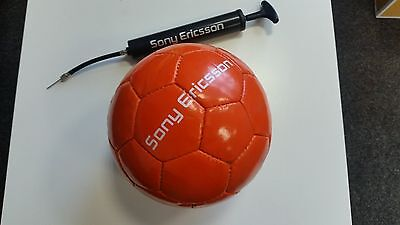 Fussball orange Gr. 5, Sony Ericsson NEU