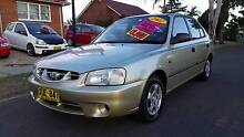 2002 HYUNDAI ACCENT AUTOMATIC HATCHBACK WITH 8 MONTHS REGO Guildford Parramatta Area Preview