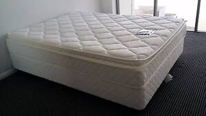 Q size Bed(Mattress + Base + covers) Rhodes Canada Bay Area Preview