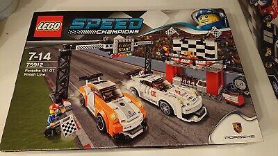 Lego Speed Champions 75912 Porsche 911 GT Ziellinie NEU