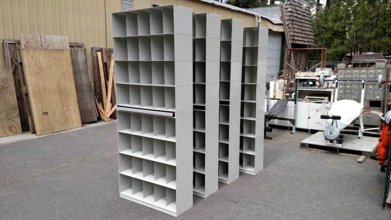 "*FILE or MEDICAL RECORD SHELVING UNITS METAL36"" WIDE WeDeliverLocallyNorthern CA"