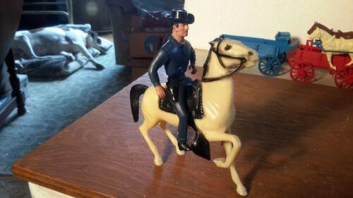 "Hartland ""PALADIN"" MINI w/Horse & Hat Western Plastic Models"