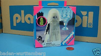 Playmobil 4650 Special Factory series Scary Ghost Candle Glow N The Dark toy 141