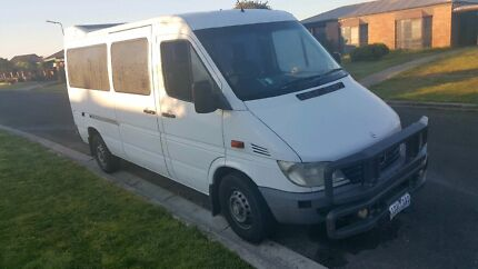 2002 Mercedes benz sprinter lwb refrigerator van Campbellfield Hume Area Preview