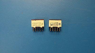 4 Lts367hr Lite-on Displays Segmented Module 1digit 8led Hi-eff. Red Cc 10-pin