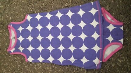 Size 2, Bonds Polka Dot Dress with Nappy Cover Bulli Wollongong Area Preview