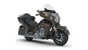 2018 Indian Motorcycles Roadmaster Polished Bronze / Thunder Bla