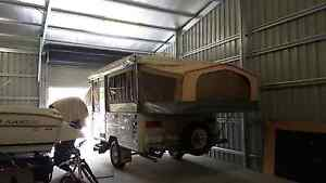 2001 Jayco Swan Outback Camper Trailer Buccan Logan Area Preview