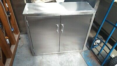Stanley Innerspace Stainless Steel Medical Cabinet 31 T X 35 W X 13 D Wkey