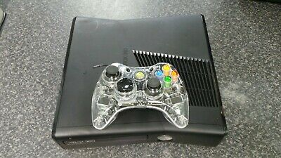 (Pa2) Microsoft Xbox 360 Slim 4gb Console Matte Version + 3rd Party Controller