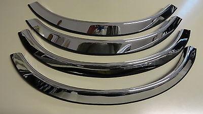 Edelstahl  Radlauf Zierleisten Mercedes R129