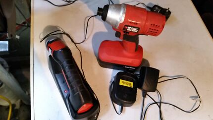 Black and Decker tools 18v impact driver and 6v Powerdriver Pooraka Salisbury Area Preview