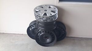 4 x wheel rims and Ford wheel caps Craignish Fraser Coast Preview