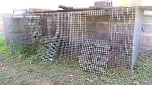 Bird or chook cage 3 sections Greta Cessnock Area Preview