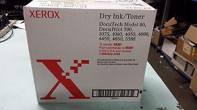 3 Genuine Xerox Dry Ink Black Toners Docutech 90 Docuprint 390 1075 1090 6r301