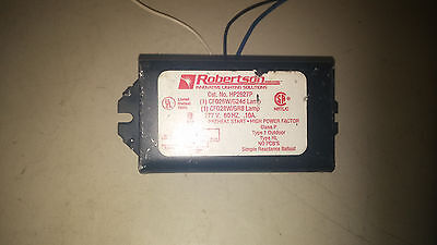 Robertson Hp2627p Lightly Used 277v Ballast 1 Cfq26 Lamp See Pics B31