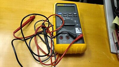 Fluke 87 Iii Trms Multimeter Tester With Probes Protective Case Working