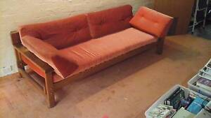 Daybed/sofa, wooden Cammeray North Sydney Area Preview