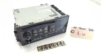 2000-2006 CHEVROLET TAHOE AM/FM RADIO CD PLAYER OEM DELCO