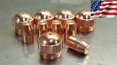 10pc X 19918 Electrode 19915 Nozzle 40a - Esab Pt-27a Plasma Cutter Us Ship