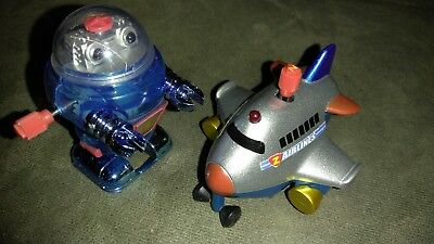 California creations Z Windups Blue Robot and Jet plane. ](California Party Supplies)