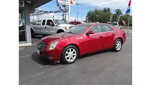 2008 Cadillac CTS PRETTY CAR !! GREAT!! LOW KILOMETERS !!