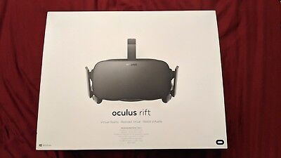 Oculus Rift CV1 Accepted Reality Headset *NEW IN BOX*