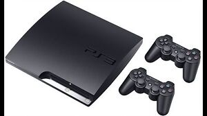 PlayStation 3 - 500G - Slim - 2 Joysticks & All Cables St Leonards Willoughby Area Preview