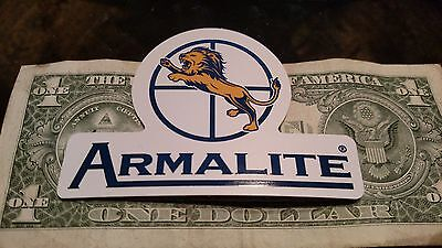 Armalite Firearms Sticker Decal Sporting Hunting Shoot Rifle OEM Original