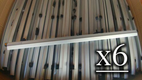 "LOT of 6 SAFCO Print-Lock 36"" Print Clamps Plan Hold Hangers Blueprint D Documen"