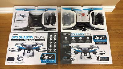 GPS Drone / Return Home / Follow Me / 720p Auto / Takeoff & Land-Promark Shadow