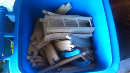 Bulk lot of wooden Thomas  tracks and trains  Emu Plains Penrith Area Preview
