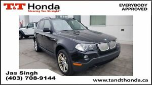 2008 BMW X3 3.0si* Leather, Heated Seats, Panoramic Sunroof