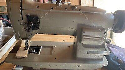 Singer Single Needle Walking Foot With Reverse Industrial Sewing Machine