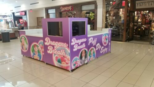 Food Or Retail Kiosk for Malls 10 x 10