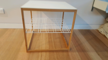 Two matching Ikea side tables